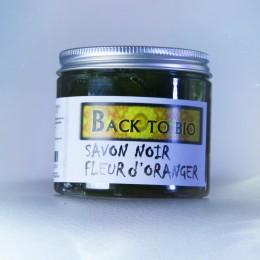 Jabón Negro con Aceite de Argán y flor de naranja
